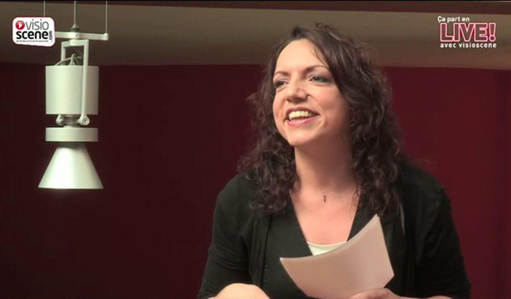 """Séverine Robic - Chronique dans """"  ça part en live """" par Visioscène"""